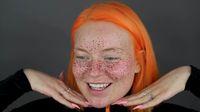 Youtuber Coba Buat Bintik Bintik Wajah Pakai Henna Malah Jadi Mirip