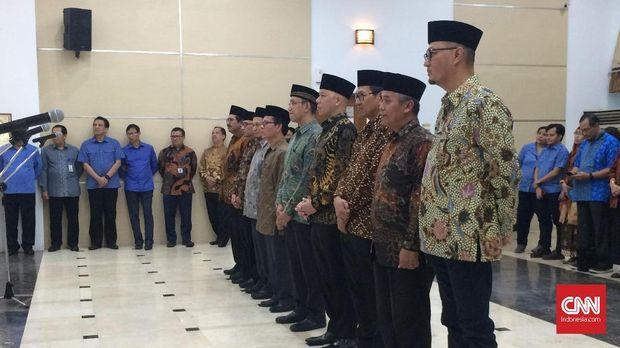 Rudiantara Lantik 7 Anggota Komite BRTI, Fokus Layanan TI