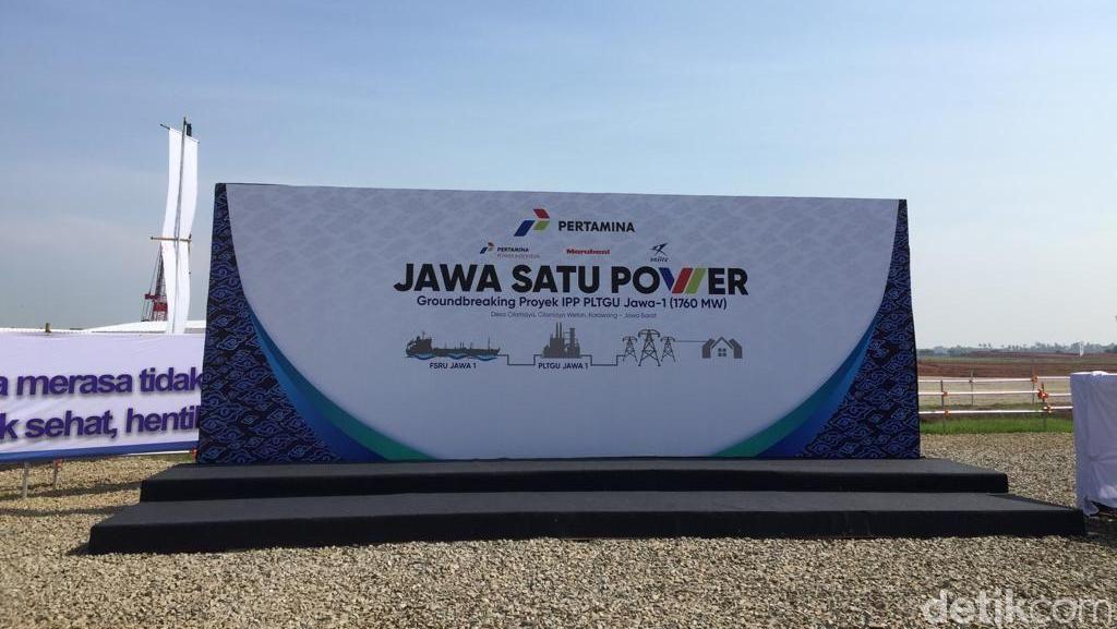 Konstruksi PLTGU Terbesar di Asia Tenggara Dimulai Hari Ini