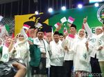 Jaringan Kiai Santri DKI Deklarasi Dukung Jokowi, Khofifah Turut Hadir