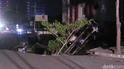 Jalan Gubeng Ambles, Pemkot Surabaya Duga Ada Kesalahan Konstruksi