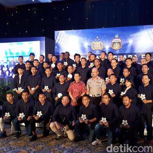 Finis Ketiga di Liga 1 2018, Bhayangkara Gelar Syukuran