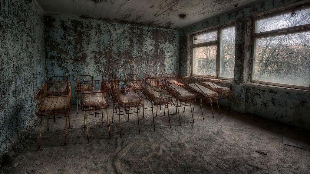 Potret Sunyi di Kota Hantu Chernobyl