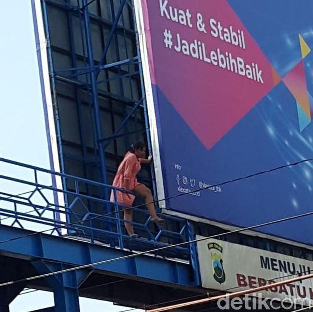Perempuan Asal Banten Mau Bunuh Diri Lompat Jembatan di Tegal
