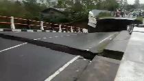Jembatan Penghubung Bener Meriah-Aceh Tengah Putus
