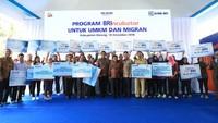 OJK terus mendorong literasi keuangan untuk UMKM dan pekerja migran sebagai upaya peningkatan produktivitas dan ekonomi kerakyatan. Foto: dok. BRI