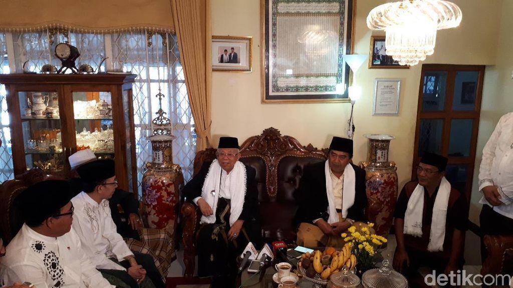 Ma'ruf Amin soal Habib Bahar: Bukan Kriminalisasi tapi Proses Hukum