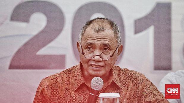 Ketua KPK Agus Rahardo tetap bekerja seperti biasa.