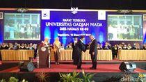 Menteri Basuki Raih Anugerah Hamengku Buwono IX Award dari UGM