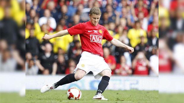 Ole Gunnar Solskjaer dikenal sebagai supersub di Man United.