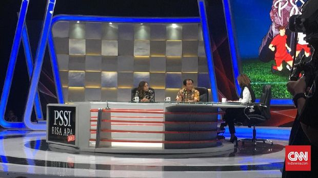 Talkshow Mata Najwa beberapa kali membahas pengaturan skor di Liga Indonesia.