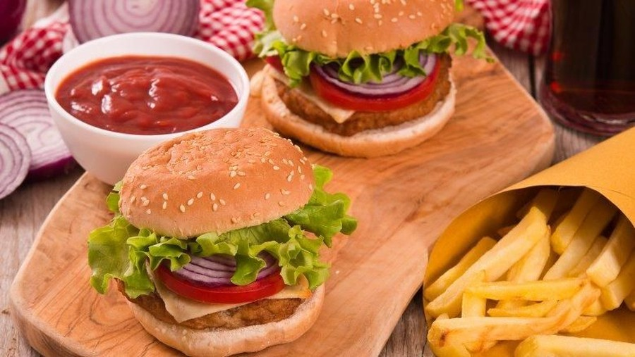 Burger Kaki 5 dan Bintang 5