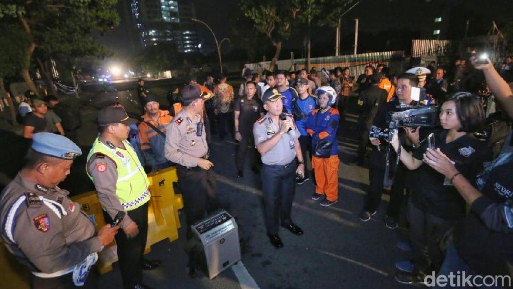 Polisi Periksa Kontraktor Terkait Jalan Raya Gubeng Ambles