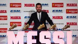 Rebut Sepatu Emas Kelima, Messi Lagi-Lagi Kalahkan Ronaldo