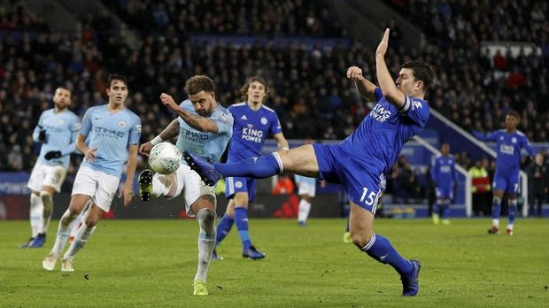 Man City jadi salah satu klub peminat Harry Maguire.