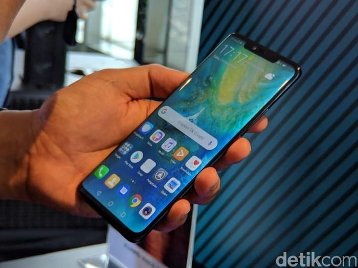 Huawei Mate 20 Pro. (Foto: Adi Fida Rahman/detikINET)
