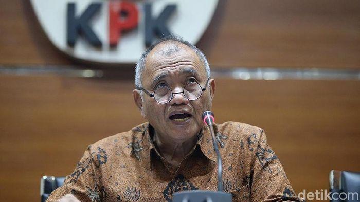 Ketua KPK Agus Rahardjo (Ari Saputra/detikSport)