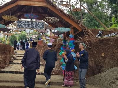 Kerennya Pasar Sinarasa, Destinasi Digital Religi di Ciamis