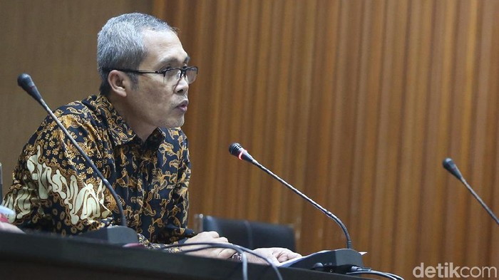 Wakil Ketua KPK Alexander Marwata (Ari Saputra/detikcom)