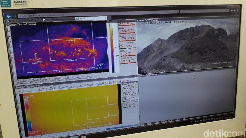 BPPTKG: Guguran Lava Merapi Mengarah ke Kali Gendol Sangat Kecil
