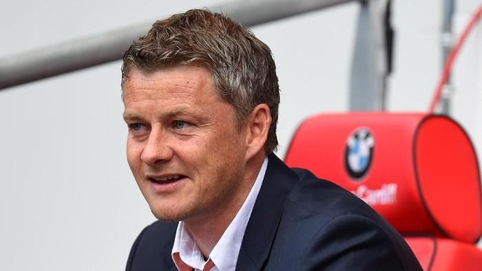 Ole Gunnar Solskjaer yang baru ditunjuk jadi manajer sementara MU. (Foto: Stu Forster/Getty Images)