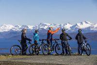 Naik sepeda dengan pemandangan seperti ini (Visit Norway)