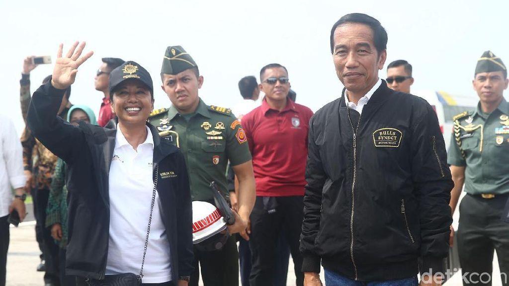JKT-SBY Tersambung Tol, Jokowi: Rest Area untuk UMKM