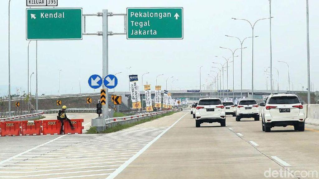 Tol Trans Jawa Mau Dibuka Searah sampai Brebes, Ini Jadwalnya
