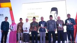 Buku Ulama Bertutur Tentang Jokowi Tepis Tuduhan Jokowi Anti-Islam