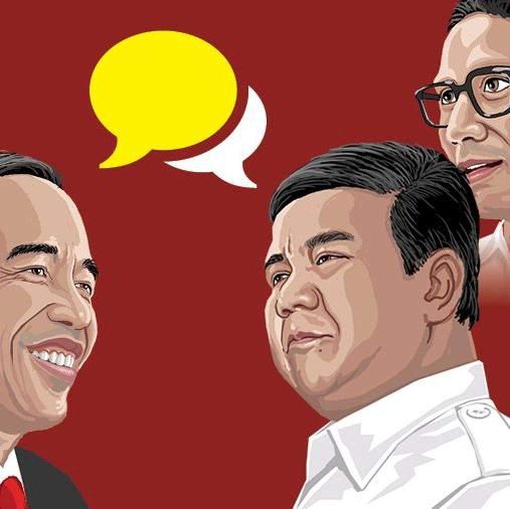 Top Issue Hukum, HAM, Korupsi, dan Terorisme Jelang Debat Pilpres 2019