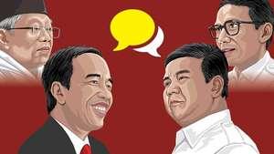 Debat Capres 2019 Perdana
