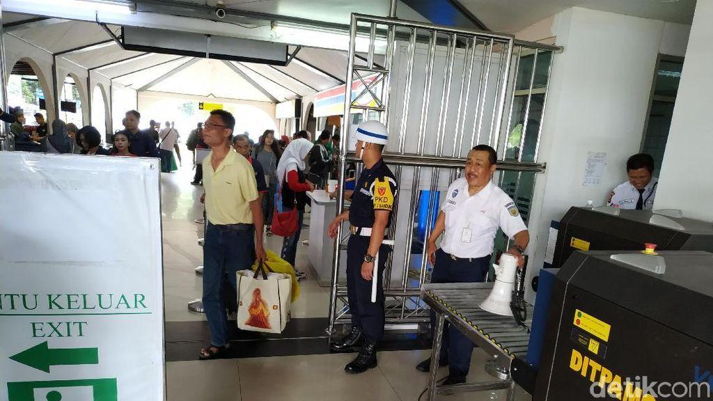 Cegah Barang Berbahaya, Stasiun Bandung Pasang X-Ray