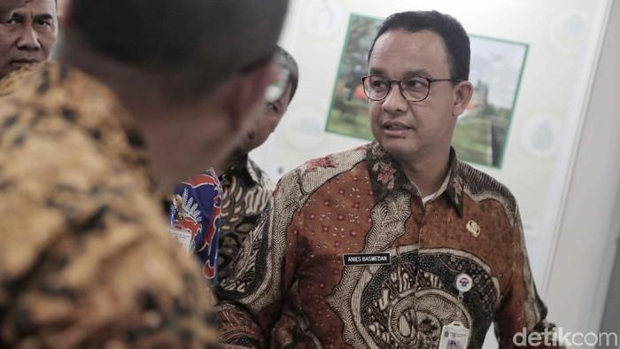 Gubernur DKI Jakarta Anies Baswedan ketika meresmikan ITF (Foto: Pradita Utama/detikcom)