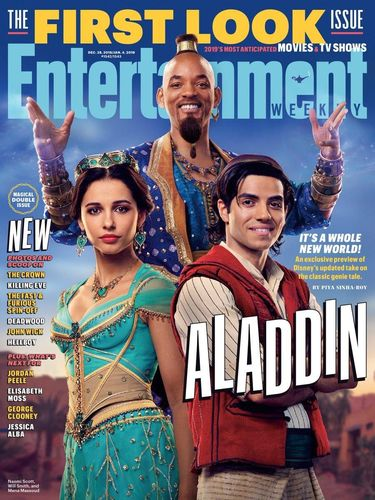 Terungkap! Penampilan Will Smith Jadi Jin di Film 'Aladdin'