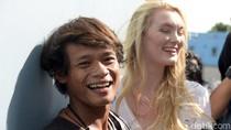 Balik ke Indonesia, Polly Alexandria Makan Sahur Pakai Terong dan Tahu