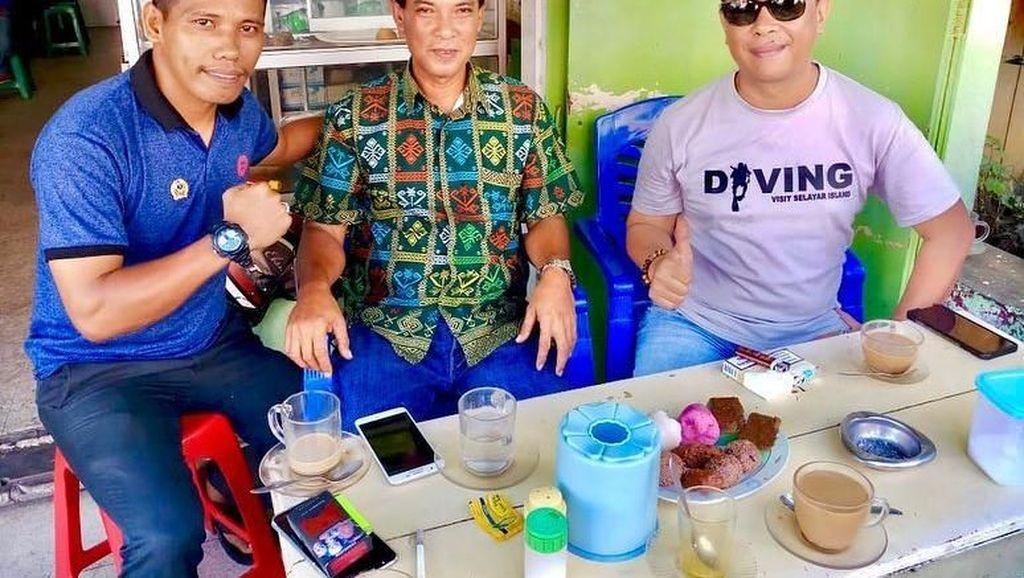 Momen Seru Rapsel Ali, Calon Menantu Maruf Amin yang Suka Kulineran