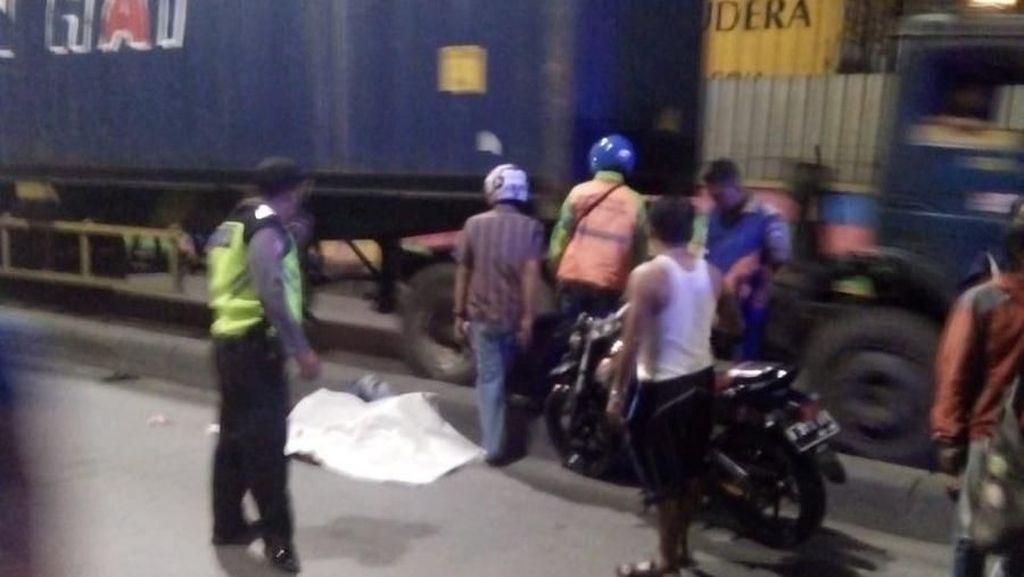 Pengendara Motor Tewas Jadi Korban Tabrak Lari di Jakut