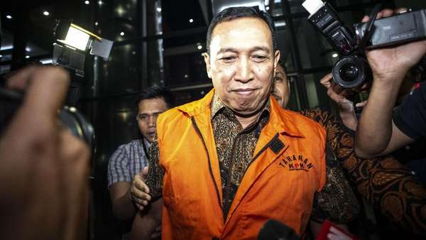 Sekjen KONI, Dulu Bicara Spa di Persidangan Kini Ditahan KPK