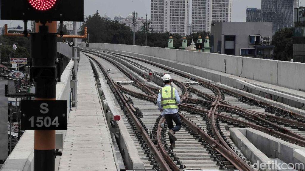 Pemprov DKI dan Kemenhub Belum Sepakat Lokasi Stasiun LRT Dukuh Atas