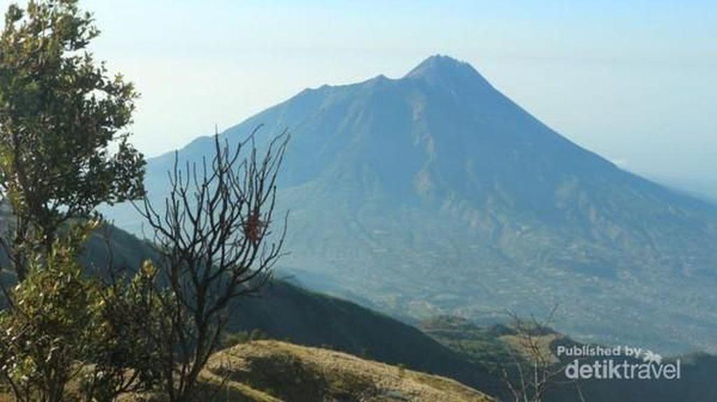 Petualangan Menanjak Gunung Merbabu Saat Kemarau