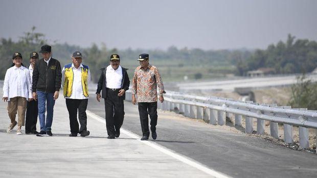TKN Minta Prabowo-Sandi Jujur Akui Prestasi Tol Trans Jawa