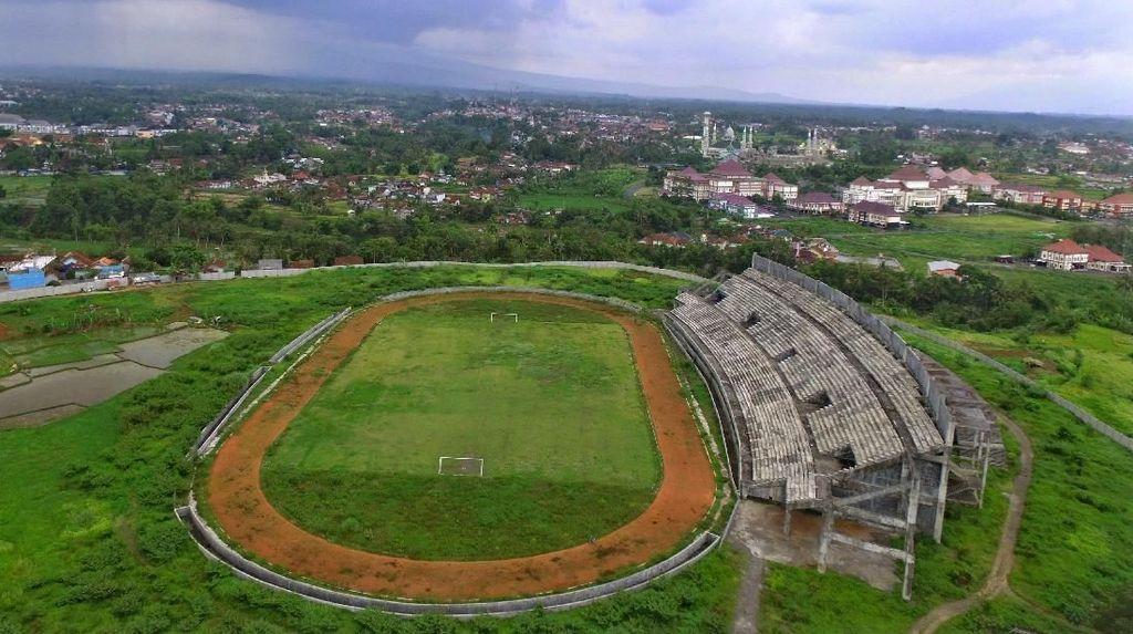 Miris! Begini Kondisi Stadion Mangkrak dan Terbengkalai di Indonesia
