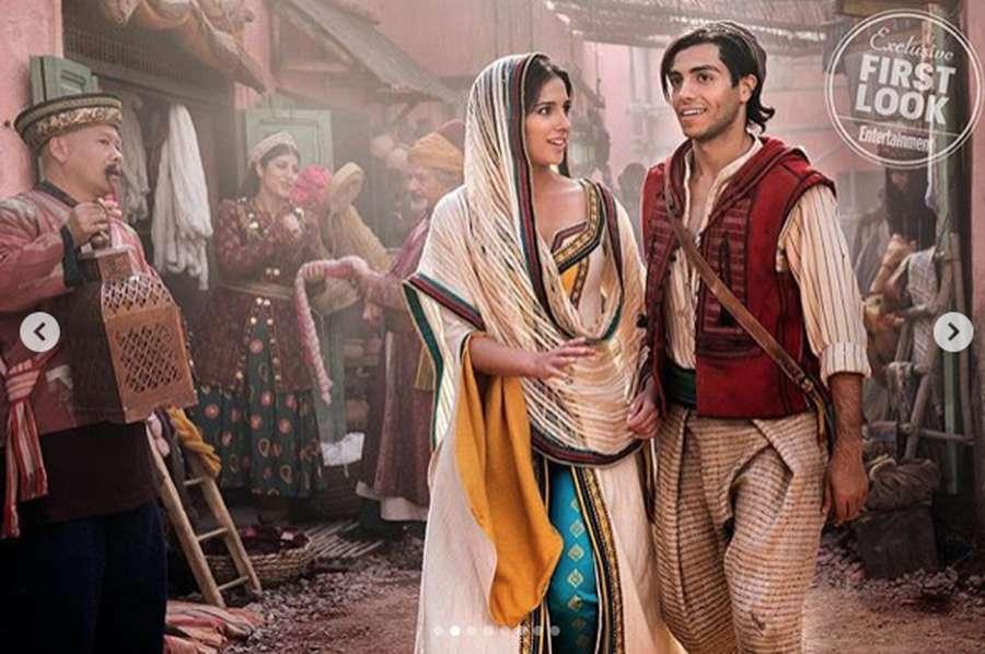 Dua Aktor Tampan Pemeran Aladdin, Pilih yang Mana?