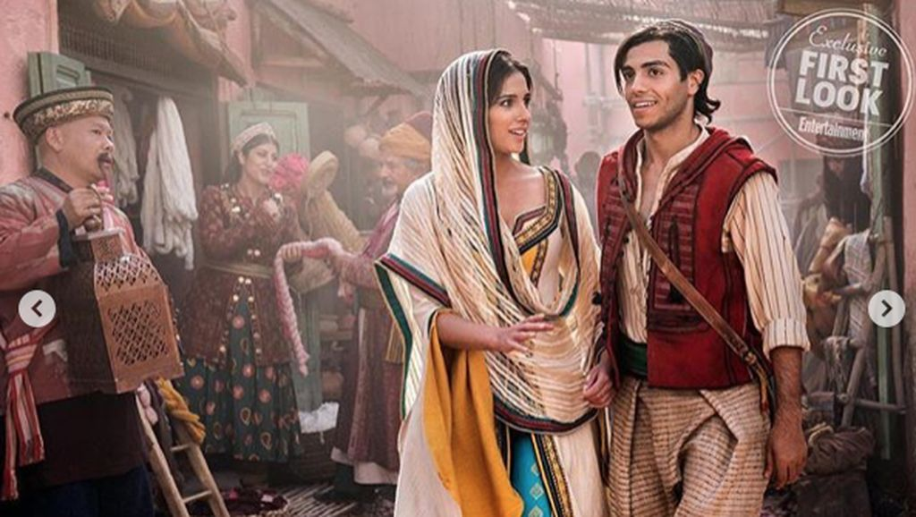 Gelak Tawa Penonton Lihat Aladdin Cs di Bioskop