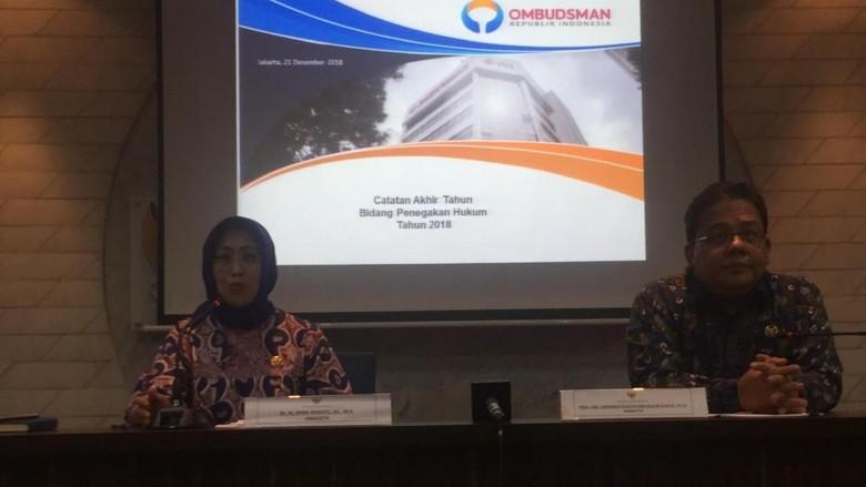 Ombudsman Soroti Lambatnya Penanganan Perkara Polri-Kejaksaan Sepanjang 2018