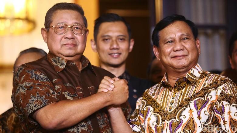 Prabowo-SBY Disebut akan Acara Bareng di Yogyakarta Akhir Februari