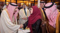 Hadiri Festival Janadriyah, Puan Maharani Disalami Raja Salman