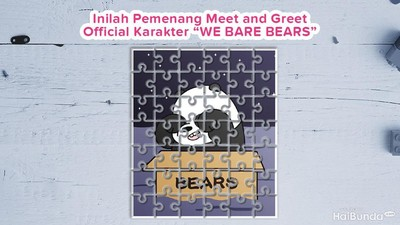 Inilah 10 Bunda Pemenang Meet & Greet Karakter We Bare Bears