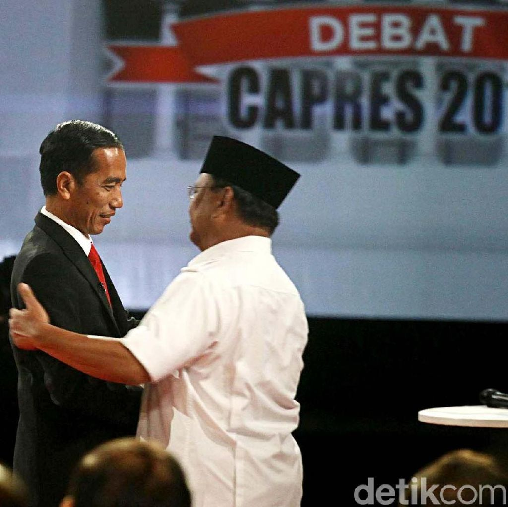 8 Fakta Debat Pilpres 2014, Pasangan Jokowi-JK vs Prabowo-Hatta