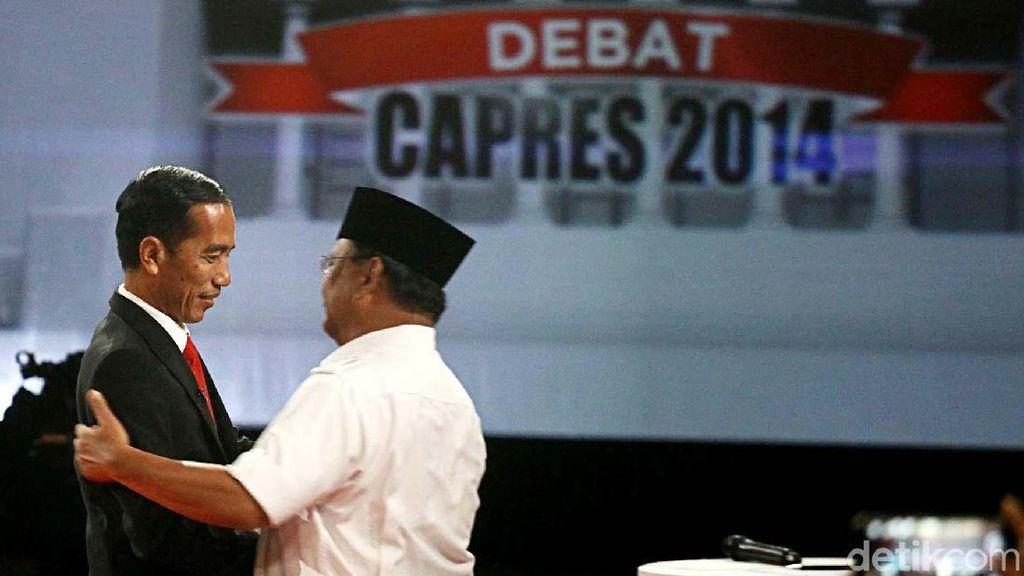 Throwback! Jokowi Vs Prabowo Tahun 2014 Silam